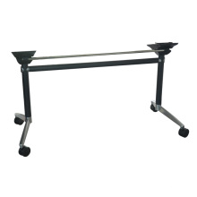 Movable Rectangle Aluminum Folding Office Table Leg (SP-ATL255)